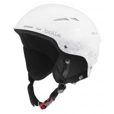 Ски каска BOLLE B-Rent 30808 Shiny White Silver