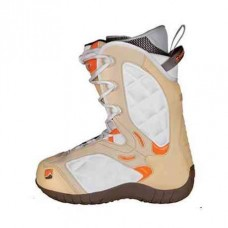 Дамски сноуборд обувки Nidecker Bliss Beige/White