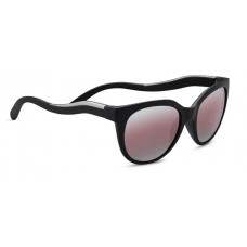 LIA 8575 - SATIN BLACK/SATIN SILVER, POLARIZED SEDONA BI-MIRROR, PHOTOCHROMIC LENSES