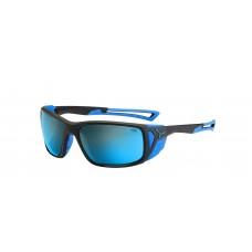 Слънчеви очила CEBE Proguide CBPROG1 Matt Black Blue/ 4000 Grey Mineral AR Blue FM