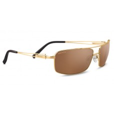 Слънчеви очила Serengeti Dante Shiny Bolt Gold Polarized Drivers Gold 8566